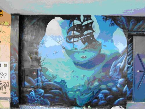 Graffiti Bar Boracay (Madrid)