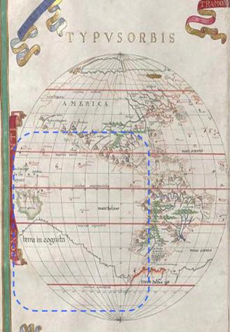 Detalle del mapa de Joan Marft