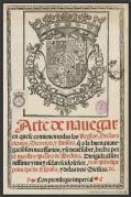 Arte de navegar, de P. de Medina(1545).