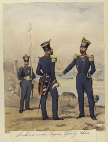 artilleros de marina