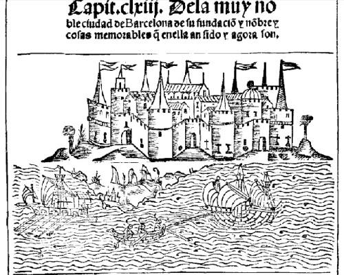 La ciudad de Bracelona en el Libro de las grandezas de Pedro de Medina