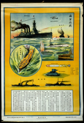 Impresionante cartel de la aviación china