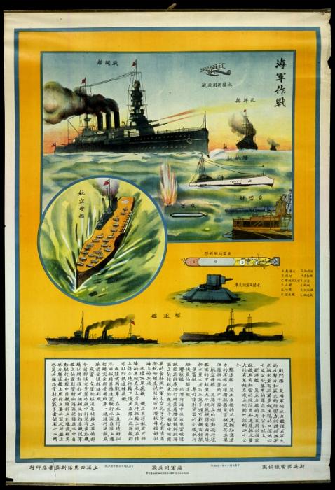 Impresionante cartel de la aviación china