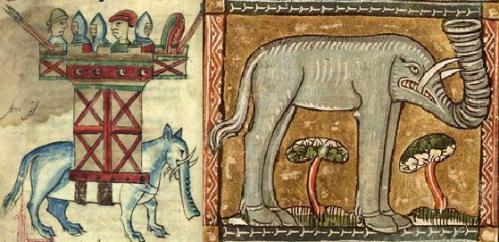 Comercio de elefantes desde norte desde África a Francia por el Estrecho de Gibraltar