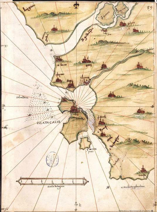 Mapa del isolario