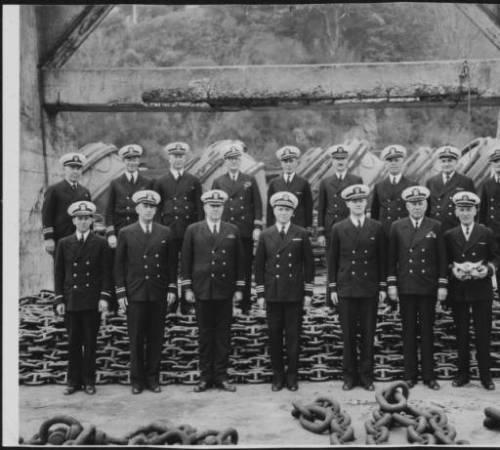 oficiales en San Francisco (1941)