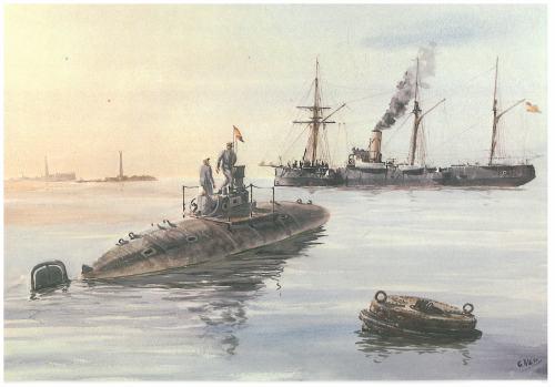 Submarino Isaac Peral (1888)