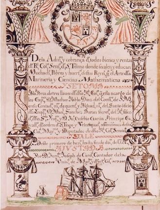Libor de cuentas. 19. AÑO 1721. US