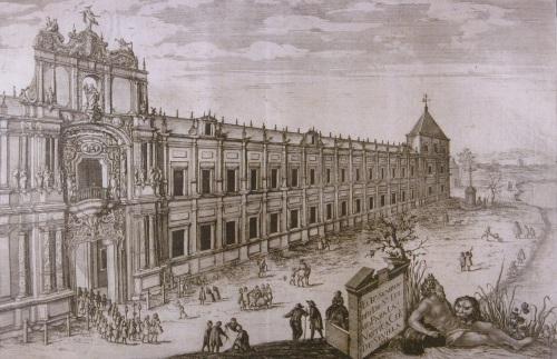 Portada del Palacio de San Telmo