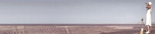 María Reiche en su amado desierto de Nazcva