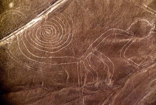 El simio de Nazca