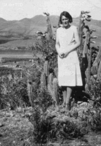 María en el desierto peruano