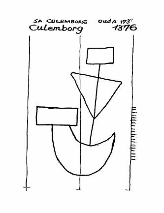 Barco. Culemborg 1376. Fuente: http://www.piccard-online.de/detailansicht.php?klassi=020.&ordnr=156030&sprache=en