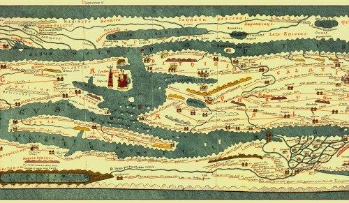 Constantinopla en la Tabula Peutigerina