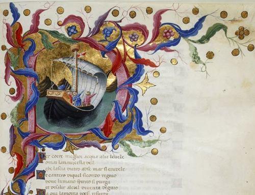 Lettere de Quercia ca 1450 Brit Libr