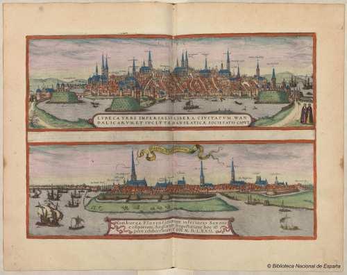 Puerto de Lübeck (1572 ), extraído de este proyecto