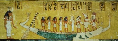 Escena tomada del libro de los muertos.