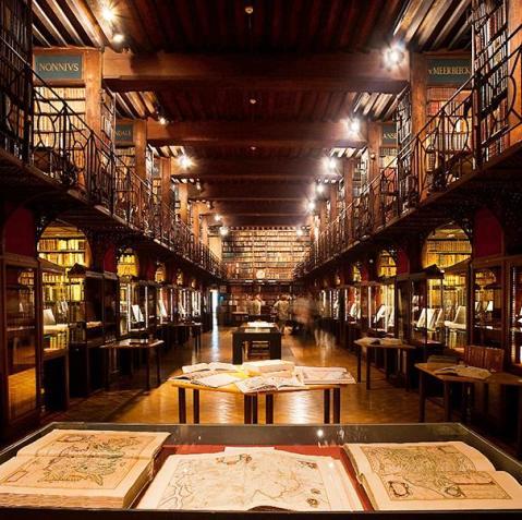 Sala Nottebohm de la Hendrik Conscience Library