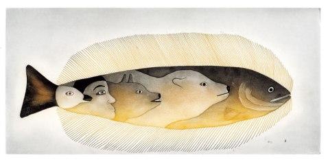 Una visión de la mitología inuit vista por una de sus mujeres, Mialia Jaw