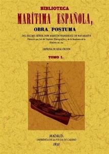 Una de las obra de Fernández de Navarrete, que recoge las biografías de ilustres marinos