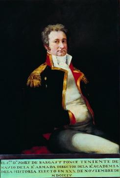 Vargas Ponce retratado por Goya (Real Academia de la Historia)