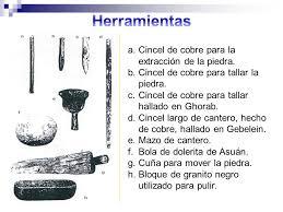 Algunas de las herramientas de sobre que se utilizaban. Fuente.