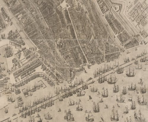 Amsterdam 1597. Fuente BNSuecia.