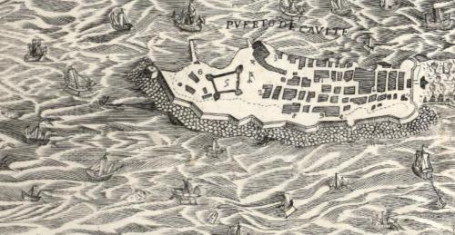 El puerto de Cavite
