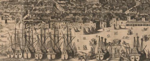 Detalle de la ciudad de Sevilla