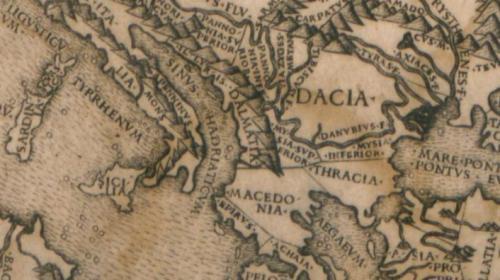 Un detalle de los mares y costas del Mediterráneo mas clásico