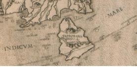 Taprobana (Sri Lanka) en la geografia de Ptolomeo