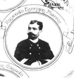 Una imagen del condestable Rosendo Escrigas, abuelo del homanajeado