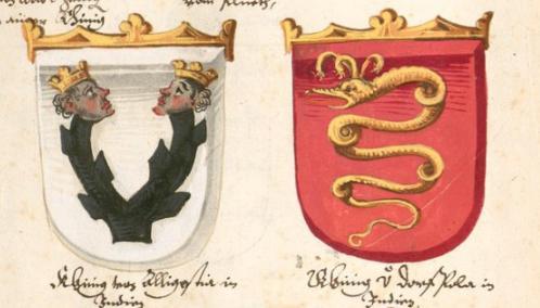 Más blasones de los reinos del Preste Juan