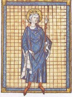 El fundador de la orden, el rey Luis. Fuente.