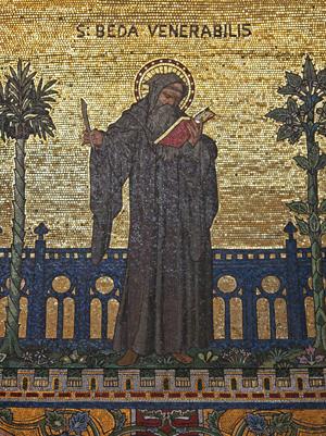 Beda en la abadía de westminster
