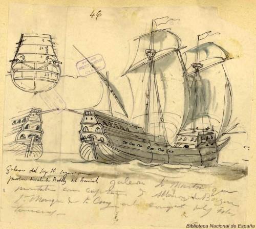 Galeón del S. XVI