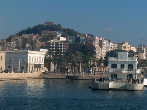 Vista desde el puerto