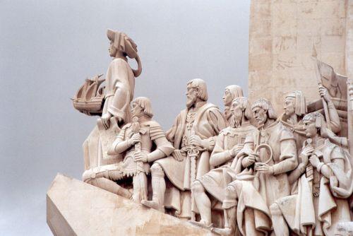Monumento a Enrique el Navegante en Lisboa