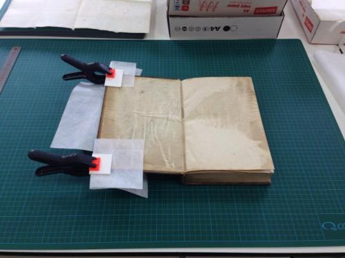 Taller restauración papel