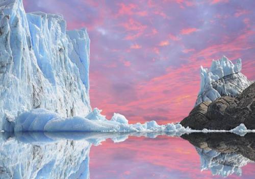 Una imagen idílica de la Antártida. Fuente.
