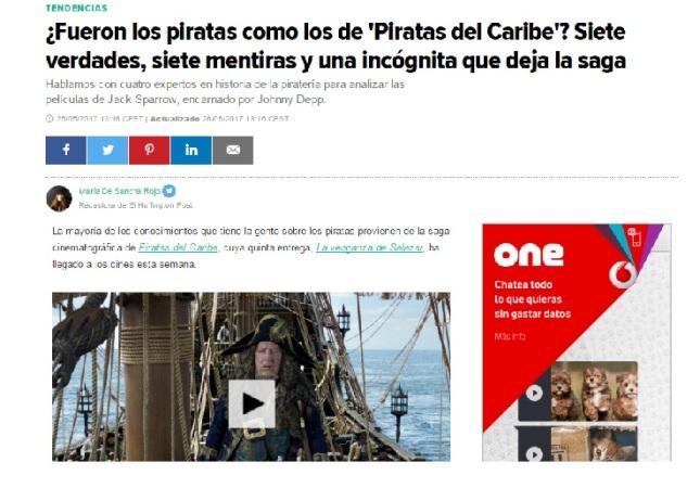 Piratería | Blog Cátedra de Historia y Patrimonio Naval