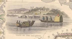 Naves en Rio Negro