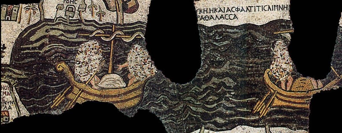 Un mosaico marítimo medieval