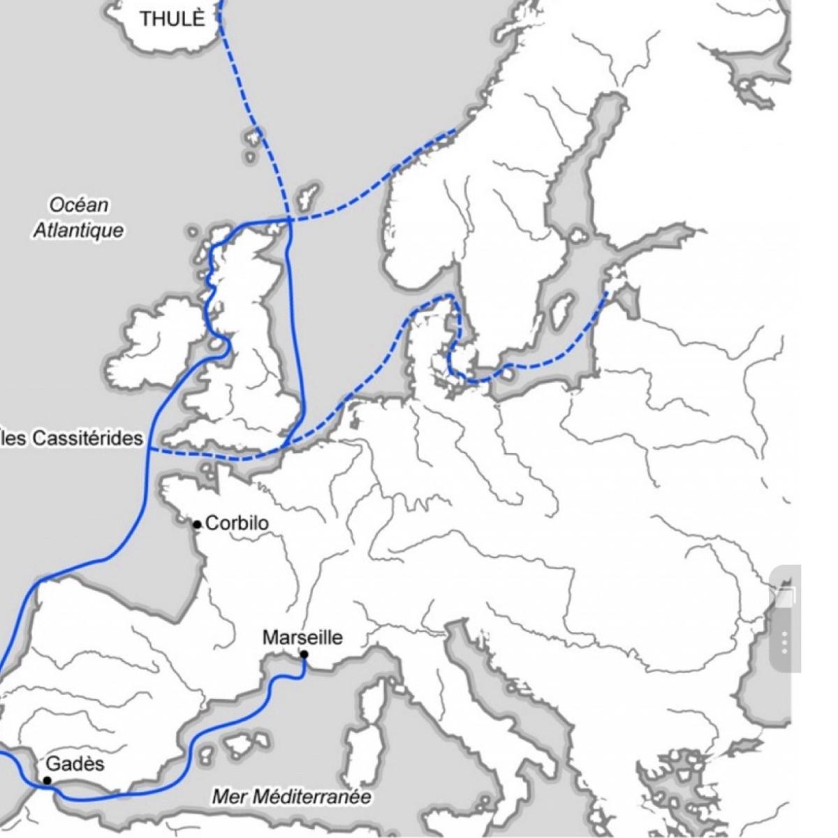 Cuando los antiguos griegos llegaron al Mar del Norte