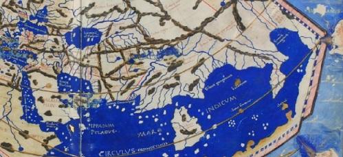 india en el mapa de Ptolomeo