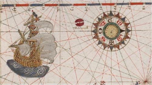 isla Brasil atlas portulano bne