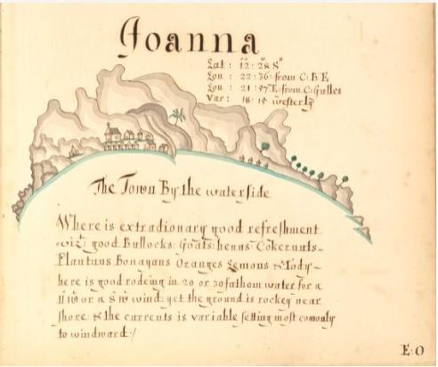 atlas bucaneros isla Johanna