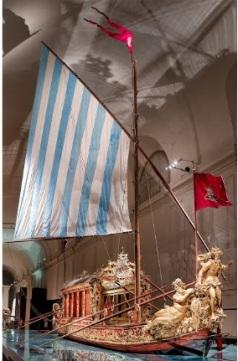 Bucintoro 1731 La Vaneria reale
