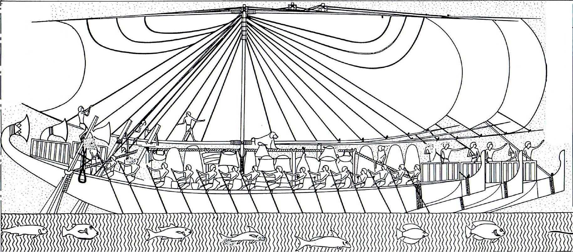 EgyptHatshepsutShip1450BCretour