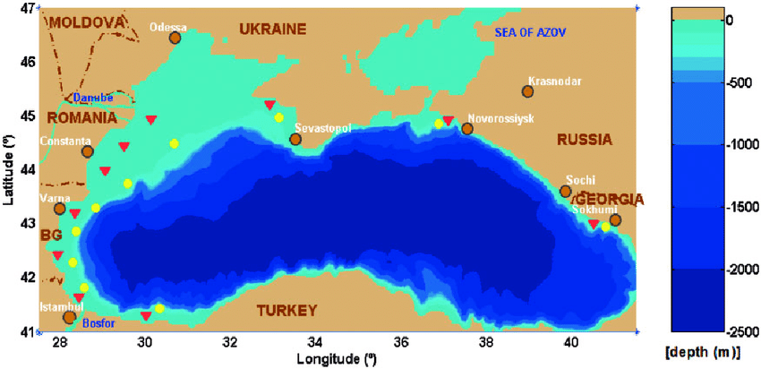 The-bathymetric-map-of-the-Black-Sea-In-the-foreground-the-reference-points-selected-for